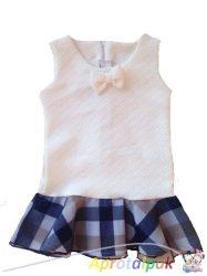 Fehér lányka ruha 86-122