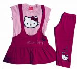 Hello Kitty szett 3/4-es leggingssel 140-es
