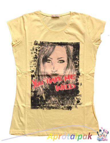 Női póló XL-es