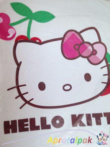 Hello Kitty gumis lepedő 60*120-70*140 -TÖRTFEHÉR