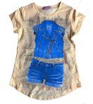 Lányka póló 128-158
