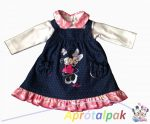 Minnie kisruha bodyval 62-86
