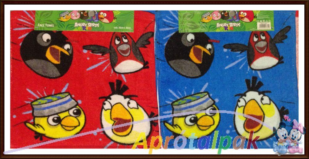 Angry Birds törölköző 30 30 - aprótalpak f0288c34f8