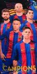 FCB Barcelona törölköző 70*140cm