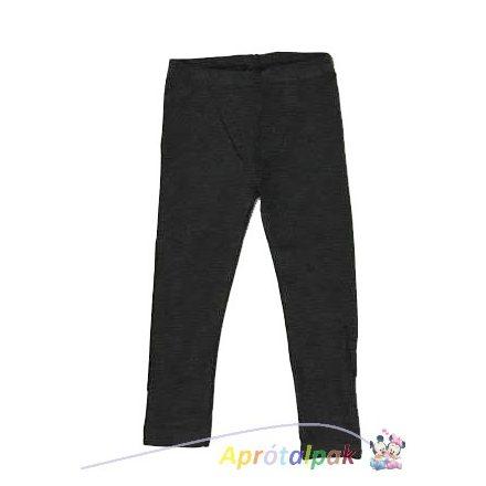 Szürke lányka leggings 98/104-134