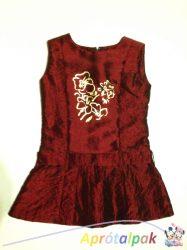 Virág mintás alkalmi ruha 104-es