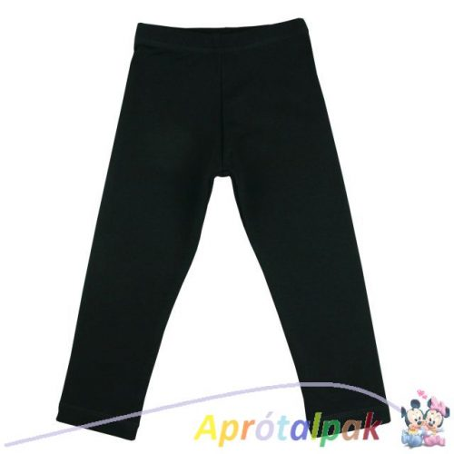 Fekete leggings 140-es