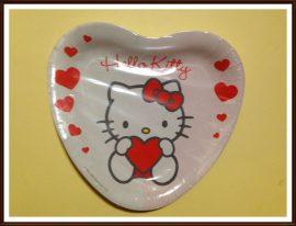 Hello Kitty papírtányér