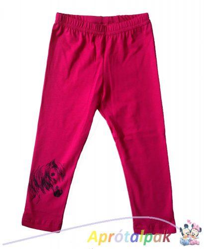 Lovas leggings 104-es