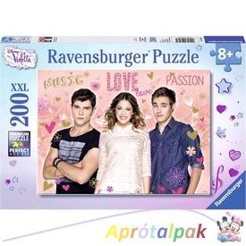 Violetta XXL puzzle 200db-os