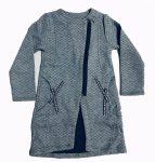 Lányka átmeneti kabát/kardigán 110-134