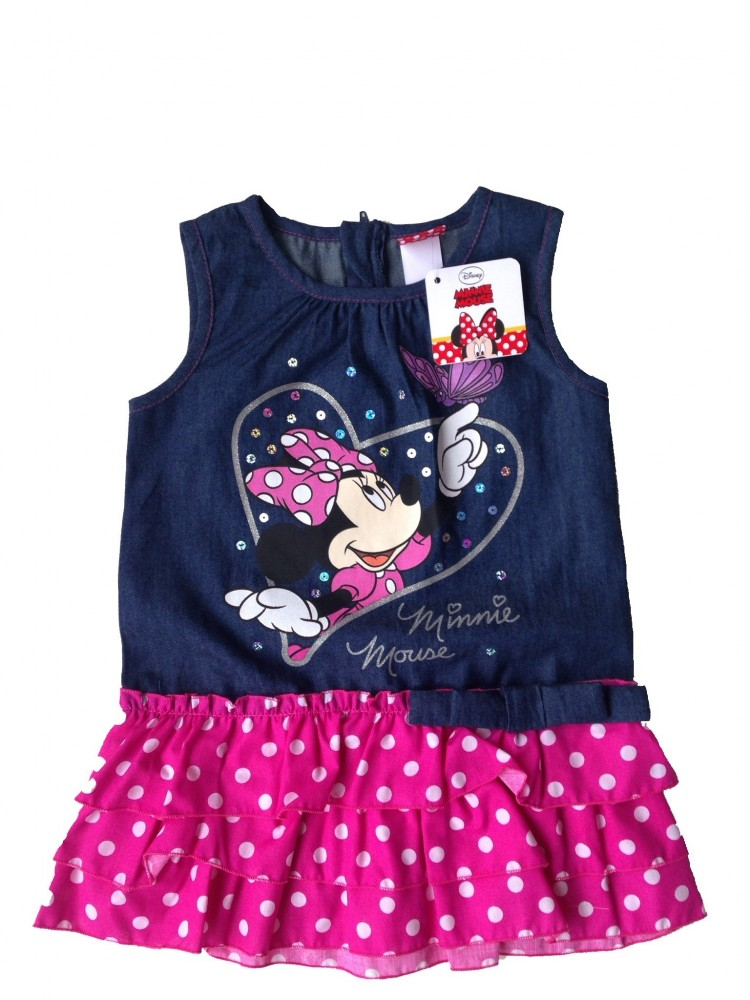 Minnie lányka ruha 80-116 - aprótalpak f86b55e85b
