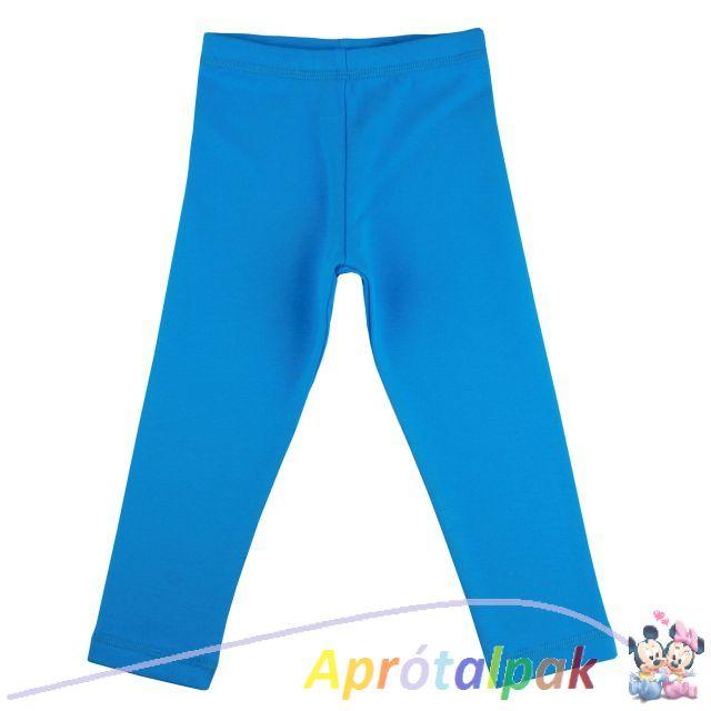 3349578244 Kék leggings 86-140 - aprótalpak