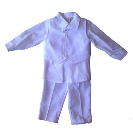 Fiú keresztelői ruha 86-os