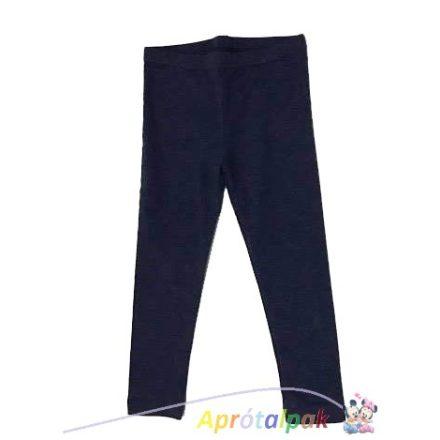 Kék lányka leggings 98/104-134