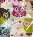 Baglyos textil pelenka