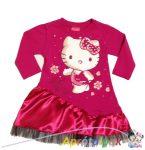 Hello Kitty alkalmi ruha 74-es
