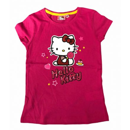 Hello Kitty póló 128-as (extra akció)