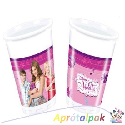 Violetta pohár 8db-os