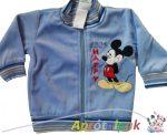 Mickey plüss kocsikabát 56-86