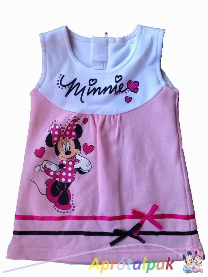 99baacb9ec Minnie lányka ruha 74-es - aprótalpak