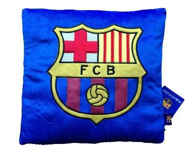 FCB plüss párna 35*35