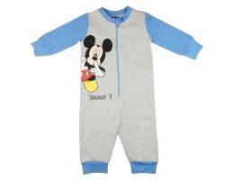 Mickey overálos pizsama 80-116