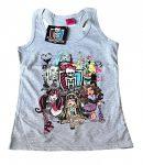 Monster High trikó szürke 140-es (extra akció)