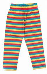 Csíkos leggings 116/122-152/158 (3/4-es)