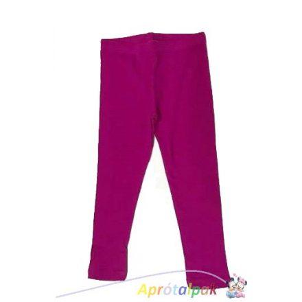 Ciklámen lányka leggings 98/104-es