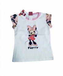 Minnie póló 86-116 -fehér