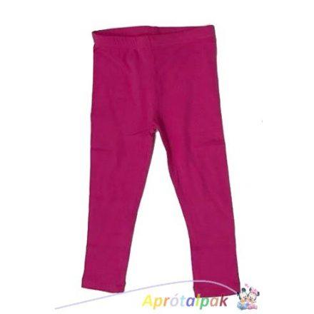 Pink lányka leggings 98/104-134