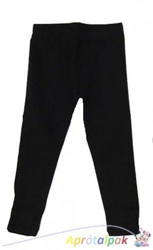 Fekete lányka leggings 98/104-134