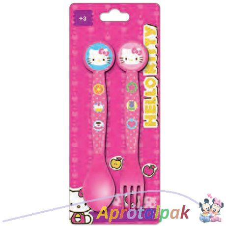 Hello Kitty evőeszköz