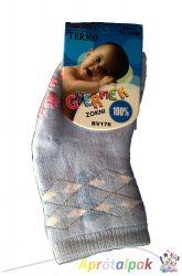 Vastag csúszásgátlós zokni 0-12hó