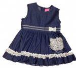 Hello Kitty farmer lányka ruha 74-116