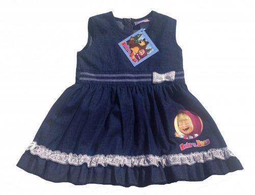 Mása és a medve farmer lányka ruha 68-122