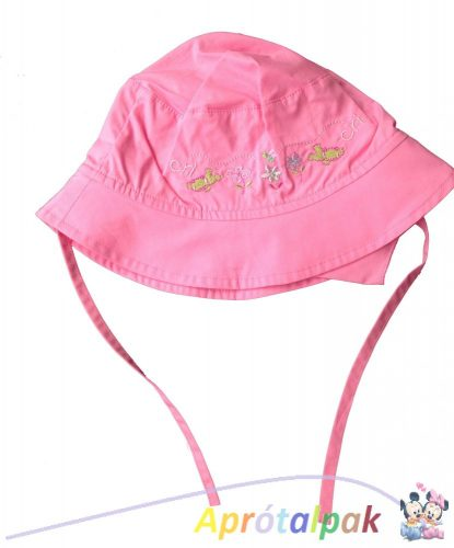 Hímzett virág mintás kalap